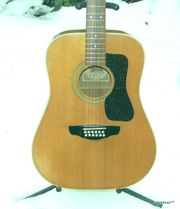 Vintage 12-String Westerngitarre Wotan W12-12
