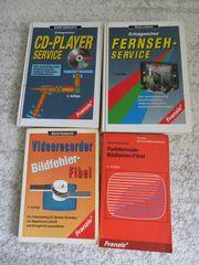 Franzis Bücherset Reparaturhandbücher TV und