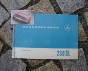 Betriebsanleitung Mercedes W113 230 SL