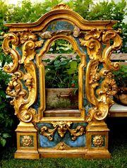 großer Barock Rahmen vergoldet Altar