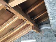 Dachstuh Holz zu verschenken