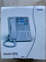 SNOM 870 VOIP TELEFON