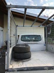 VW T5 Pritsche Planen Aufbau
