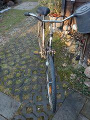 altes Fahrrad Oldtimer Marke BAUER