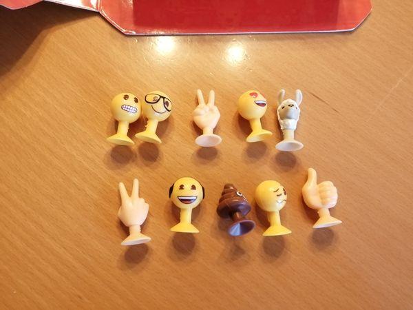 Aldi Emoji Sammelbox inkl Inhalt