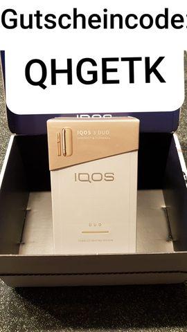 DUO 3 fuer nur 54 Euro, IQOS Rabat Code 15 Euro + bis zu 9 Packungen Heets QHGETK
