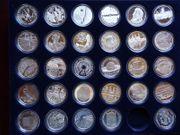 76 x 10 Euro Silber