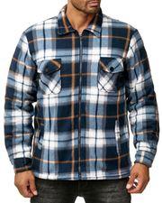 Herren Fleece Hemd Holzfäller Jacke