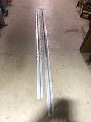 Zaunpfähle aus Stahl