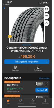 Winterreifen Continental 235 55r19