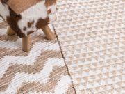 Teppich beige 80 x 150