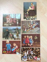 Elli Riehl Puppen Austria Postkarten