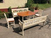 Essezimmermöbel im Landhausstil aus Echtholz