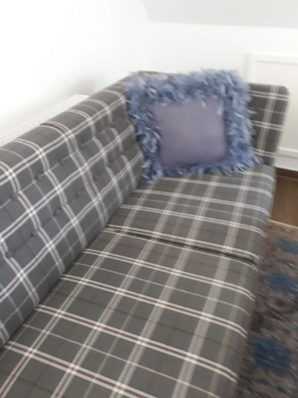Landhausstil Couch mit Sessel neu