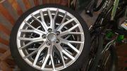 Winterkompletträder original Audi Alufelge 10