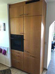 Einbauküche mit Elektrogeräte Miele Bosch