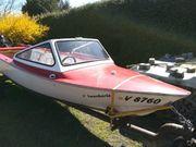 Motorboot Gehrer Gondel mit 15