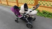 City Select Geschwisterwagen Kinderwagen Doppelsitzer
