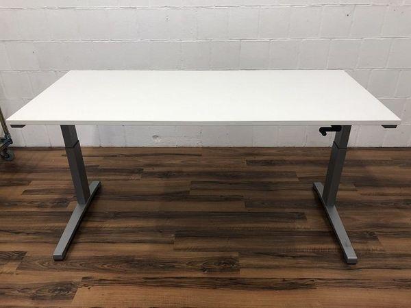 Schreibtisch Activa mit Sitzhöhenverstellung 180x80