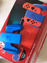 Nintendo Switch Red and Blue