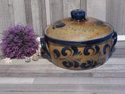 Sehr schöner großer Steingut Keramik