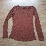 Shirt Top braun Gr 36