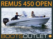 Remus 450 Open Motorboot Angelboot