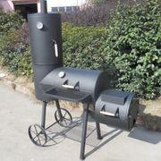 Doppel Smoker mit Räucherofen