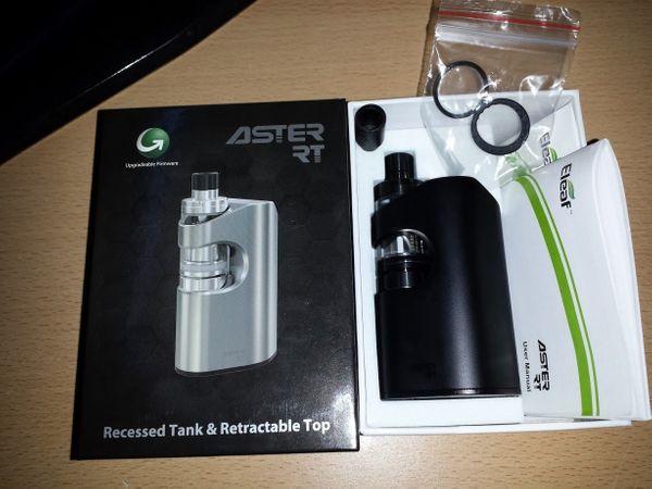 E-Zigarette Dampfer Liquid Raucher