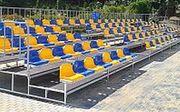 Tribünen und Stadionsitze