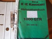 Werkstatthandbuch Kawasaki 1000 GTR ZG