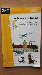 Französischübungsheft