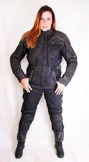 Motorradbekleidung Komplettausstattung Gr 36 38