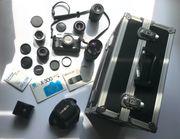 Minolta X-300 Objektive Filter Fotokoffer