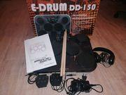 E-Drum-Set elektr Schlagzeug mit Kopfhörer