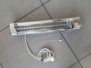 Heizstrahler für Wickeltisch mit Abschaltautomatik