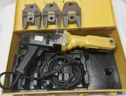 Rems Pressmaschine Pressbacken V-kontur