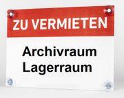 Vermiete 34qm Abstellraum Archivraum Lagerraum