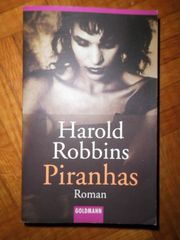 Buch Roman Harold Robbins Piranhas