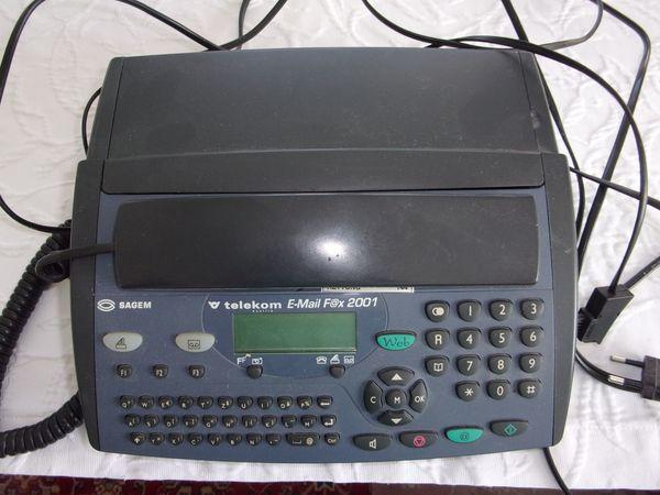 Telefon - Fax - Anrufbeantworter - E-Mail