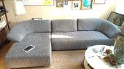 Couch Wohnlandschaft variable Sitztiefe