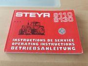 Betriebsanleitung Steyr 8110 8130