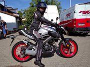 Suche Garage für Motorrad