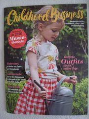 BRANDNEU ungelesen Fachmagazin Childhood Business