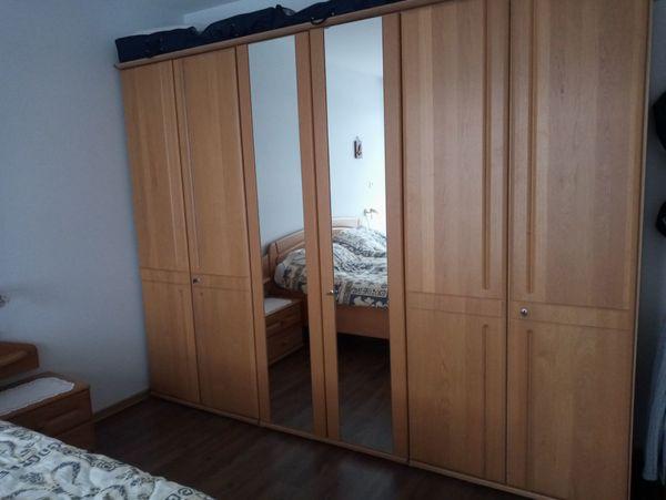 Doppelschlafzimmer Eiche hell teilmassiv