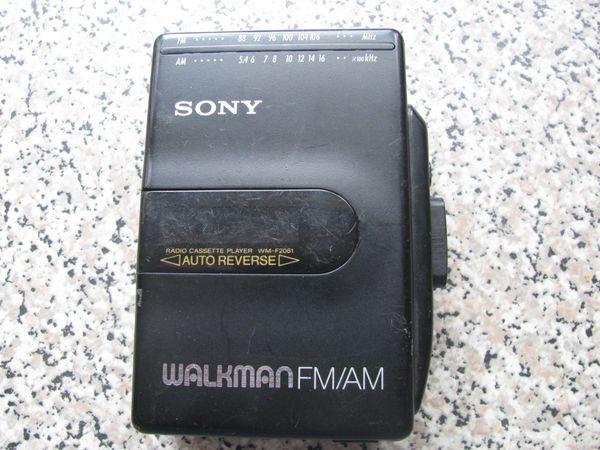 Sony Walkman WM-F2061 tragbarer Cassettenplayer