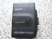 Sony Walkman WM-F2061 tragbarer Cassettenplayer