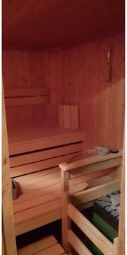 Silgmann Sauna mit Saunaofen sehr