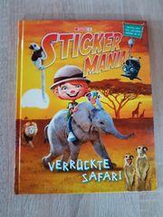 Sticker Mania verrückte Safari