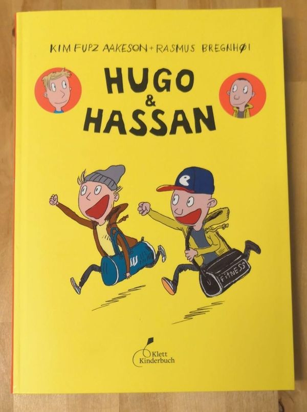 Hugo Hassan Comic
